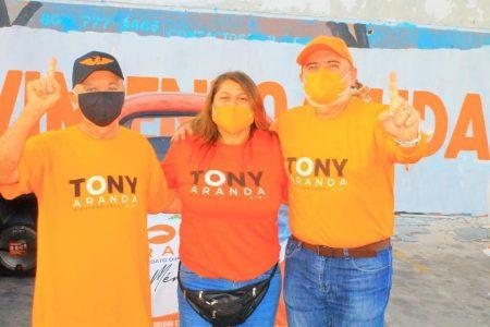 Tony Aranda, un tiktoker en campaña