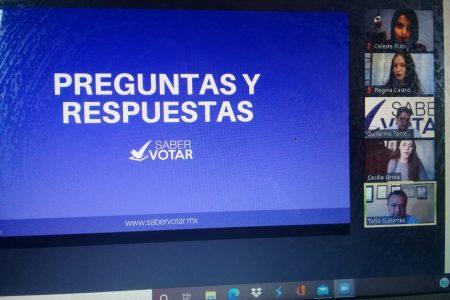 Presentan plataforma electrónica para evitar el abstencionismo electoral