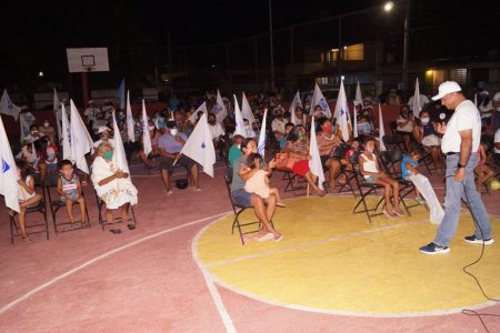 Crece la aceptación del candidato del PAN en Tizimín Pedro Couoh