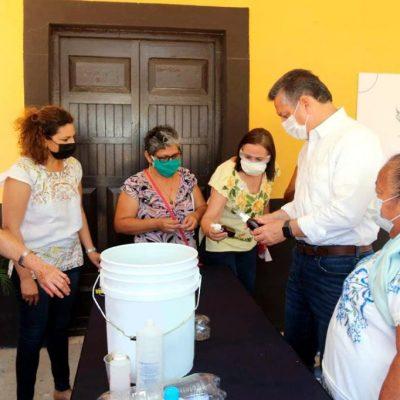 El Ayuntamiento brinda capacitación sobre elaboración de repelente orgánico