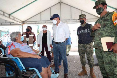 Vacunación contra el Coronavirus en Yucatán no se detiene y sigue con buena respuesta de la población
