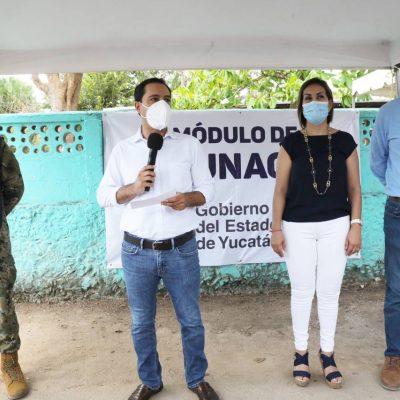 Llegan mañana vacunas para las primeras dosis a los adultos de 50 a 59 años en Yucatán