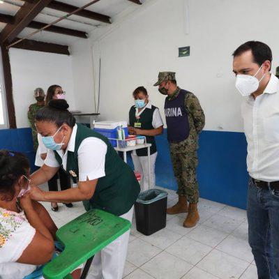 El lunes 3 de mayo comenzaría la vacunación en personas de 50 a 59 años, anuncia Mauricio Vila