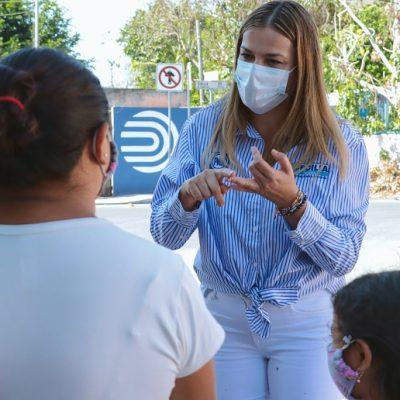 Necesitamos diputados que luchen porque bajen las tarifas eléctricas en Yucatán: Cecilia Patrón