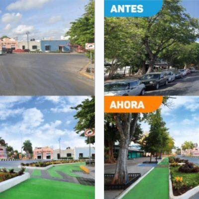 Glorietas en Paseo de Montejo cuentan con nuevo diseño vial