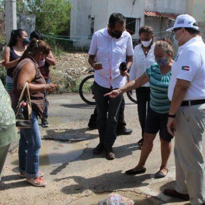 Ramírez Marín declara la guerra a los baches