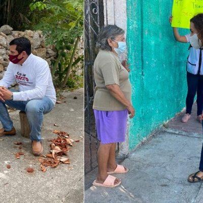 Con llamado a defender la esperanza, comienzan campaña en Mérida Oscar Brito y Geovana Campos