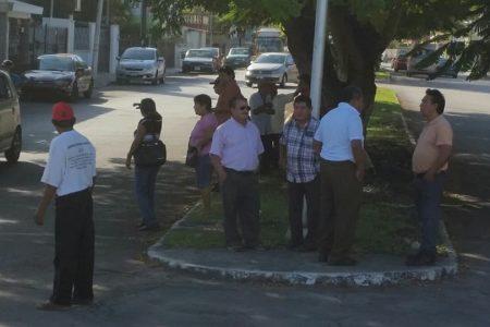 Ejidatarios denuncian robo de energía del alumbrado público en Cinco Colonias