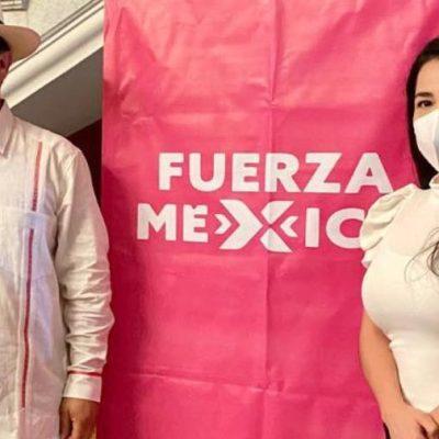 Comienza campaña en Motul la candidata de Fuerza por México a diputada federal del II Distrito