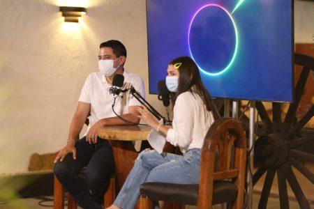 Los jóvenes de Tekax respaldan a Diego Ávila