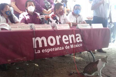 Aumenta la tensión en Morena; acusaciones y enfrentamientos en conferencia de prensa
