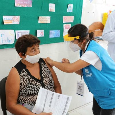 Habilitarán 16 módulos para vacunar a adultos mayores en Mérida