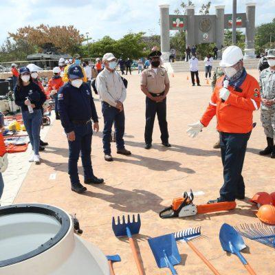 Refuerzan combate de incendios forestales en el territorio yucateco
