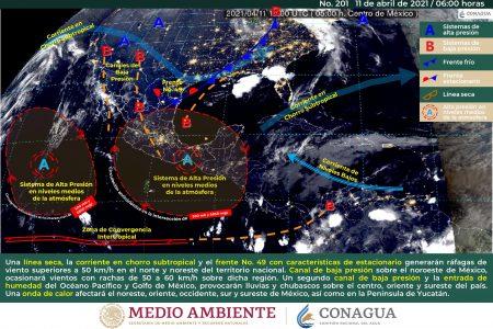 Prepárate: pronostican 41 grados en Mérida y hasta 42 en el interior del estado