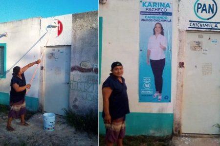 Las comisarías de Chichimilá se vuelcan en apoyo a Karina Pacheco