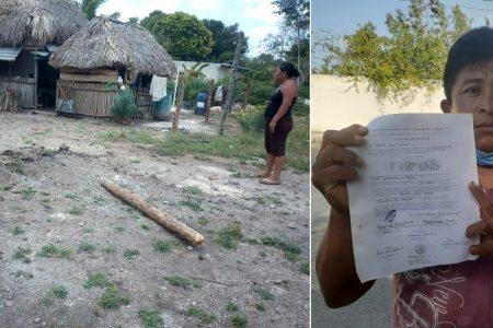 Denuncian a operador político en Tizimín: golpea a una familia para apoderarse de un terreno