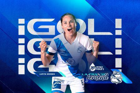 Lupita Worbis: otro gol y nombrada jugadora del partido en victoria del Puebla
