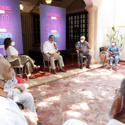 Ramírez Marín creará nuevas oportunidades para adultos mayores