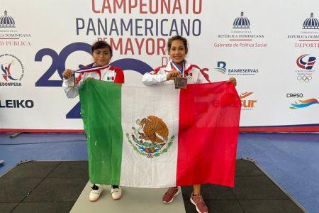 Yucatecas suben al podio en el Campeonato Panamericano de Pesas para Mayores