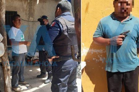 Hizo varios disparos al aire para presumir su pistolita: atemorizó a los vecinos y fue enviado a prisión
