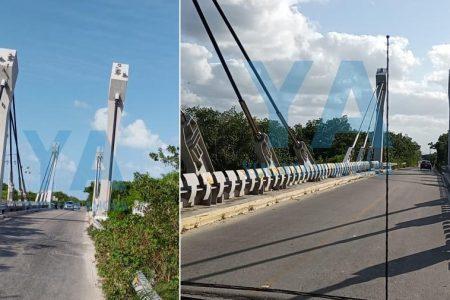 Falso reporte de colapso en el puente de Las Coloradas