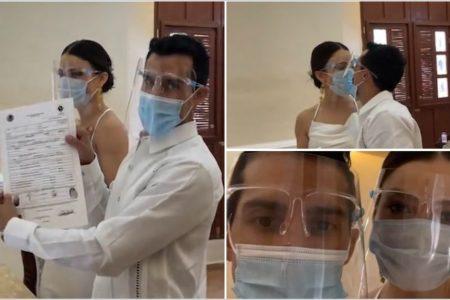 Rommel Pacheco se casa y comparte el momento en sus redes sociales