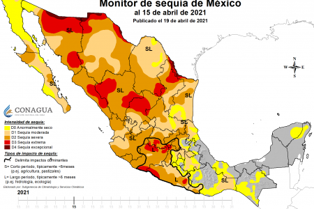 En puerta la sequía en la Península de Yucatán