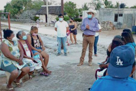 Con mensaje de unidad, Tony González comienza campaña en Temax