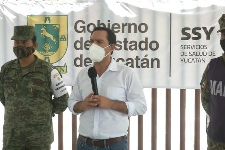 Hasta en la vacunación Yucatán es diferente: todo en orden, sin largas filas y sin problemas