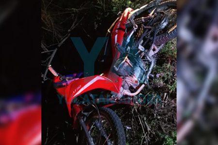 Fallece motociclista que se accidentó junto a su esposa y sus dos hijos