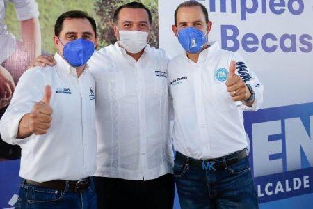 Desde Mérida, Marko Cortés le insiste al presidente López Obrador que cancele sus mañaneras