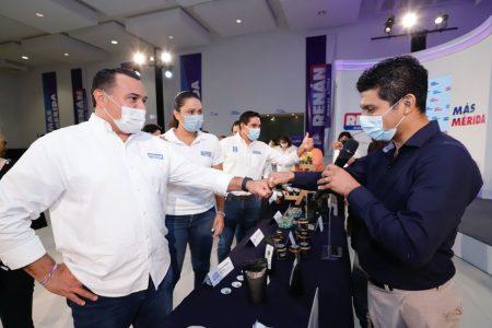 """A través de """"Emprende MID"""" Renán Barrera apoyará a los jóvenes empresarios"""
