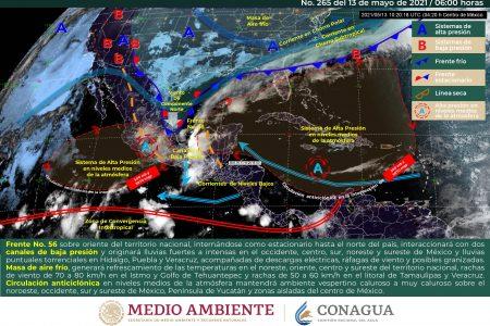 Ahí vienen las lluvias, pronostica Conagua