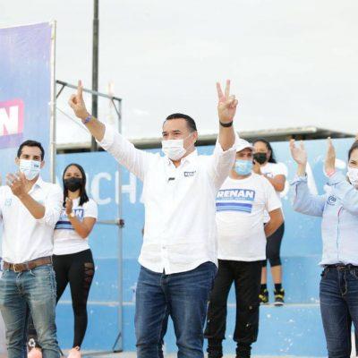 Ya ganamos la campaña, ahora vamos por la elección: Renán Barrera