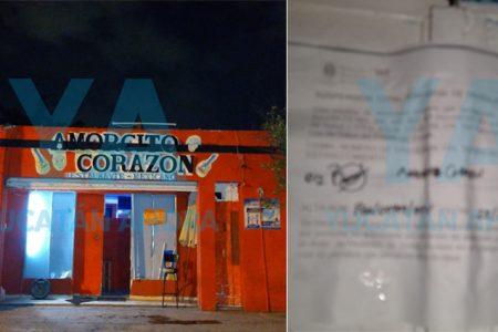 Clausuran bar en el Centro por no contar con permisos