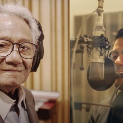 """Carlos Rivera estrena """"Todavía"""" último dueto que grabó Armando Manzanero"""