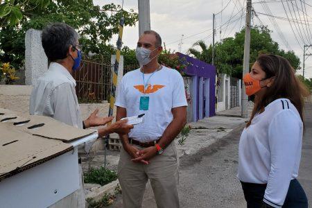 Mantenimiento de calles y luminarias, prioridad para Víctor Cervera
