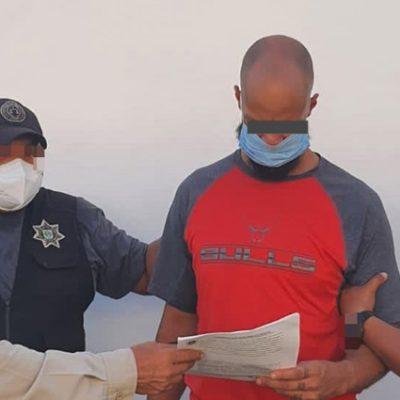 Detienen a extranjero que asesinó a su padre en fraccionamiento de Mérida