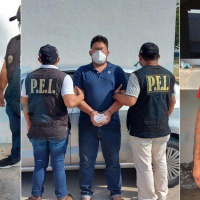 Detienen a tres personas que intentaron asaltar armados a un hombre en Francisco de Montejo