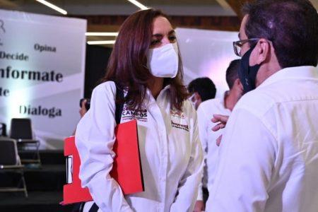 Geovanna Campos propone obligatoriedad del Insabi
