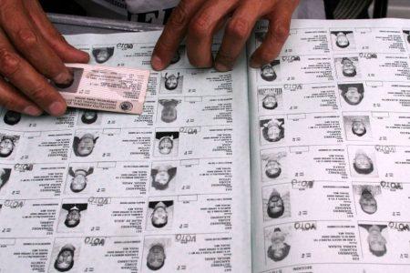 Lista nominal, con candado de seguridad para proteger datos personales de electores