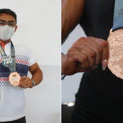 Medallas y reconocimiento para Yucatán en Fisicoconstructivismo