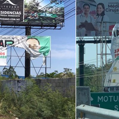"""Ramírez Marín denuncia actos de """"vandalismo político"""""""