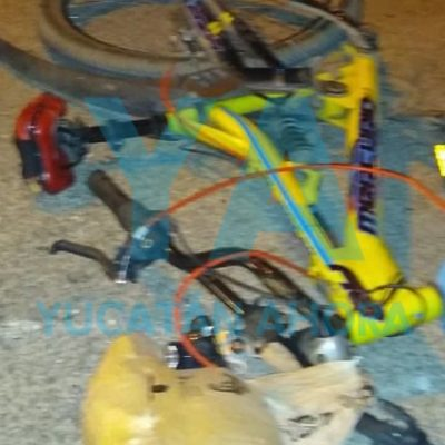 Fallece ciclista que fue atropellado por un auto que huyó en Jardines de Nueva Mulsay