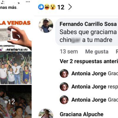 Pobladores de Muna denuncian ofensas por quejarse de la administración de Rubén Carrillo