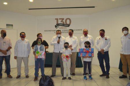 Celebran en Yucatán el 130 aniversario de la SCT