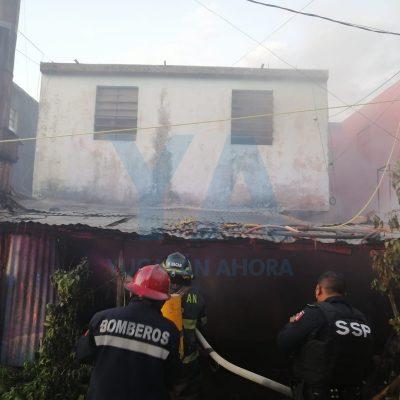 Incendio daña la casa de una pareja de la tercera edad