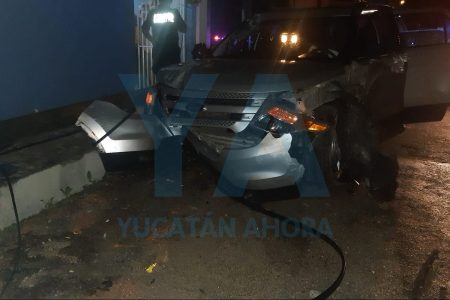 Castigado de por vida: alcoholizado y joven conductor causa todo un desastre en la Díaz Ordaz