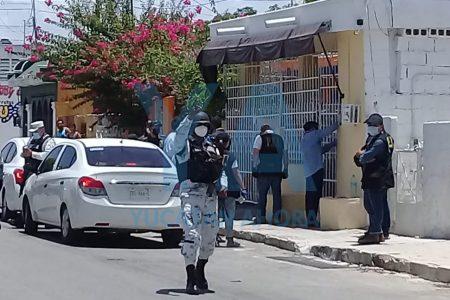 Aseguran casa y detienen a tres personas, por venta de drogas en la colonia Bojórquez