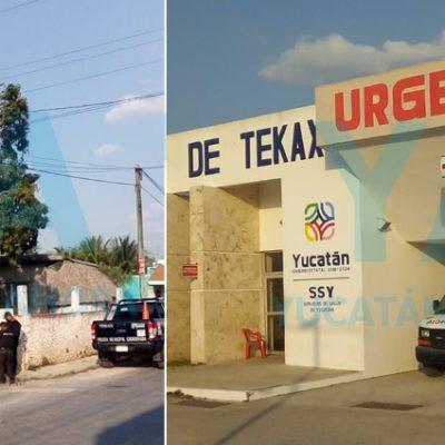 Fallece un joven tras caer de un árbol en Tekax